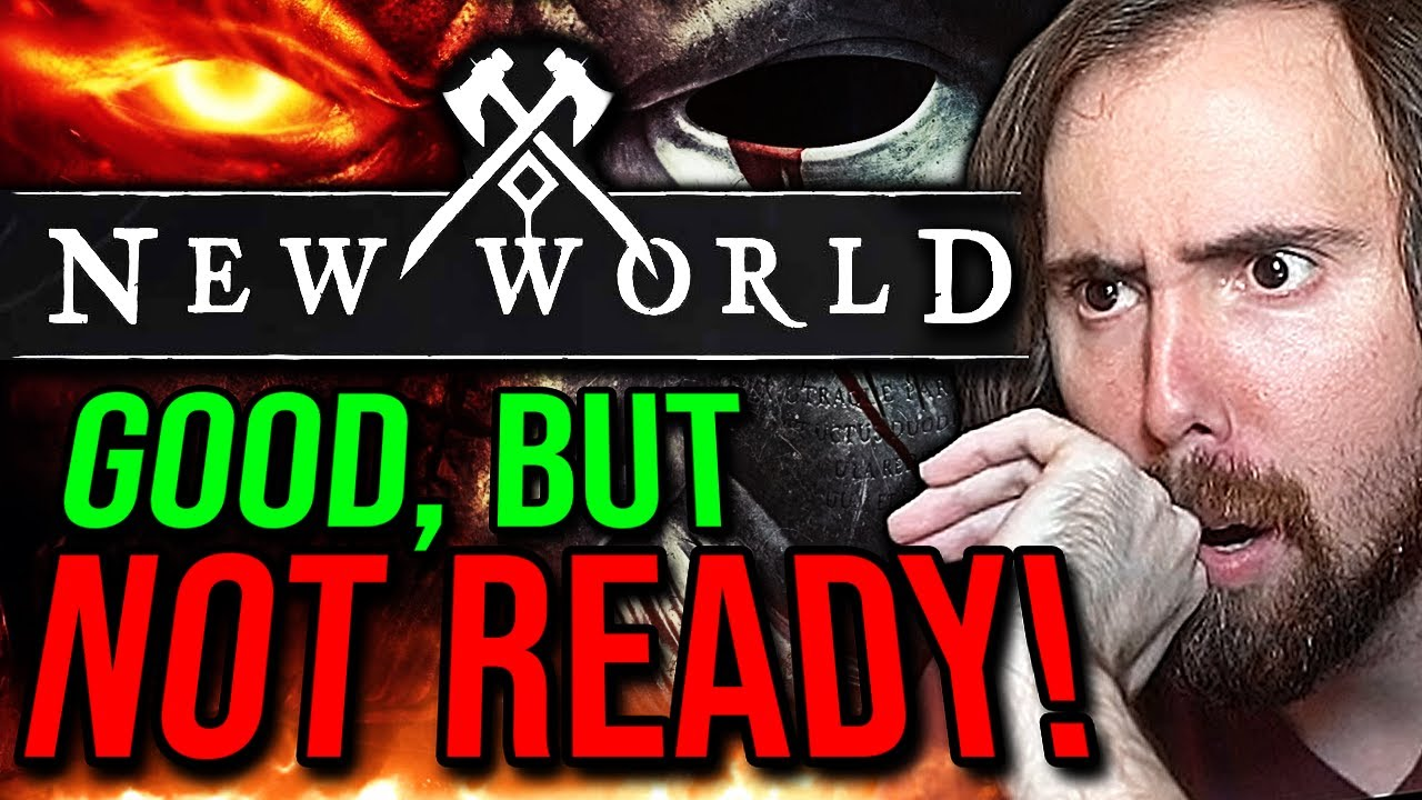 Destined to Fail? Asmongold Reacts to New World - MMO First Impressions | By KiraTV