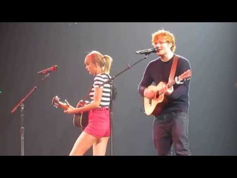 Taylor Swift & Ed Sheeran - Everything Has Changed (Live in Edmonton, AB on June 26, 2013)