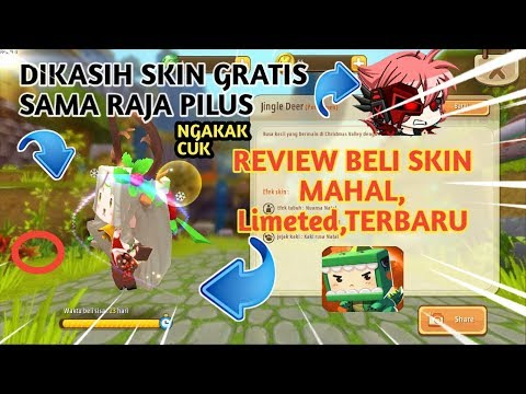 Raja Pilus Kasih Skin CHRISTMAS Permanent Gratis! Skin Jingle Deer Limited,Terbaru Di Mini World - 동영상
