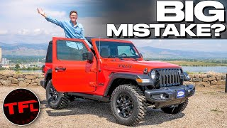 Here Is Why I Bought a New Jeep Wrangler Instead of a Ford Bronco!