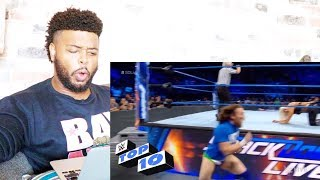 WWE Top 10 SmackDown LIVE moments: September 11, 2018 | Reaction