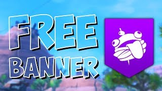 HOW TO GET FREE DURR BURGER BANNER - Fortnite Battle Royale
