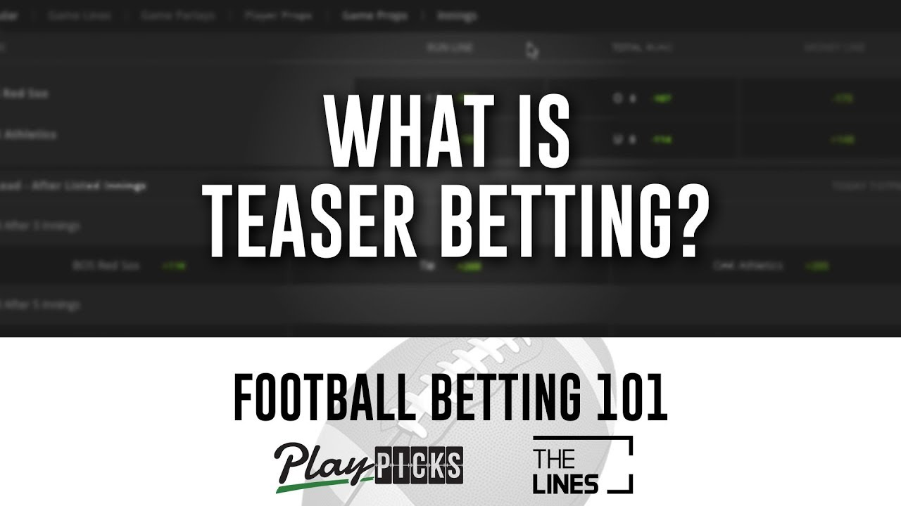 Teasers betting football strategies trading binary options strategies and tactics pdf995