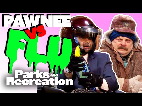 PAWNEE VS THE FLU - Parks And Recreation