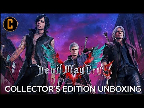 Devil May Cry 5 Collector's Edition Unboxing