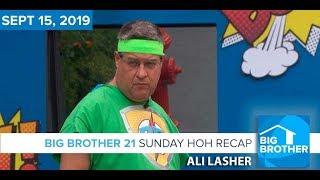 Big Brother 21 Sunday Night Sept 15 Nominations Recap | Ali Lasher  #BB21