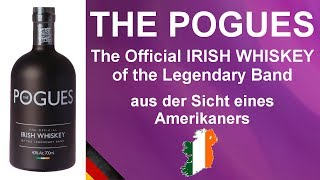 The Pogues - The Official Irish Whiskey of the Legendary Band Verkostung #895 von WhiskyJason