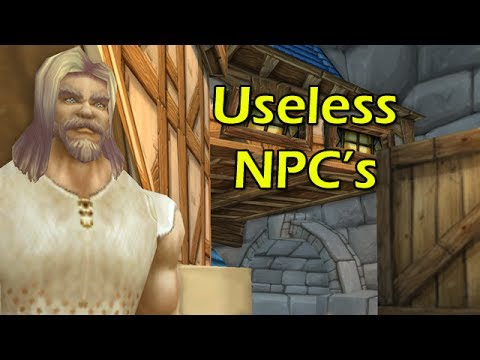 Pointless Top 10: Useless NPCs in World of Warcraft