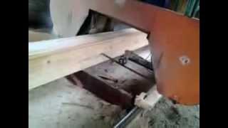 як швидко і якісно налаштувати стрічкову пилораму