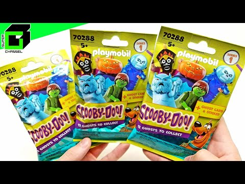 More SCOOBY DOO Playmobil Blind Bags! Toy Review