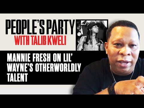 Mannie Fresh Breaks Down Lil' Wayne's Unique Genius And Otherworldly Talent | People's Party Clip