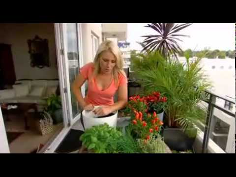 Greenbo Rail Planter Pot Urban Plants Flowers Hanger For Railing / Balcony - YouTube