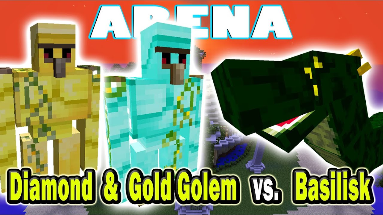 how to make a gold golem in minecraft