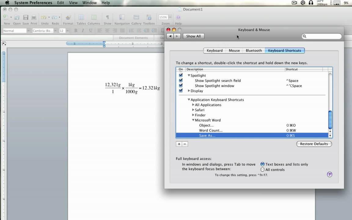 microsoft equation editor superscript mac