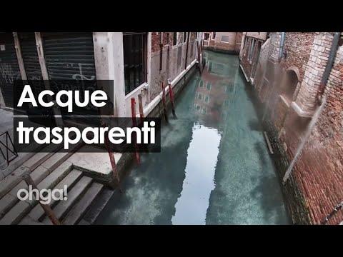 Le acque del fiume Sarno e dei canali di Venezia tornano limpide, ma c'è davvero meno inquinamento?