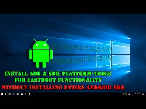 Install ADB And SDK Platform Tools