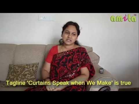 Beautiful Curtains from amita - Customer Testimonial review of Mrs Sripriya Vairavel