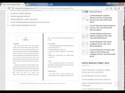 contoh-makalah-penelitian-geografi-tentang-lingkungan-hidup