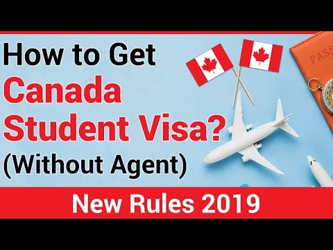 Get Canada Study Permit (Without Agent) 2019 | Step By Step Process | New Rules
