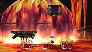 スマブラX 全イベント戦 難易度 難しい 早めにクリア thumbnail