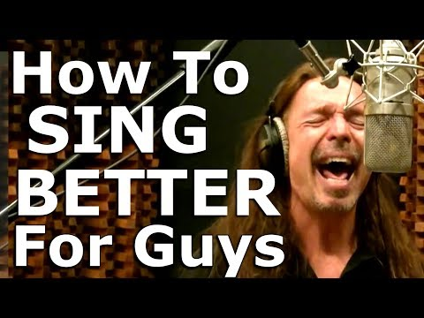 How To Sing Better For Guys – COMPLETE – Ken Tamplin Vocal Academy