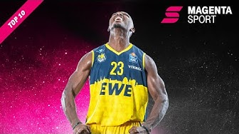 Standing Ovations für Rickey Paulding | MagentaSport Top 10 | easyCredit Basketball Bundesliga