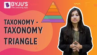 Taxonomy - Taxonomy Triangle | Learn with BYJU'S