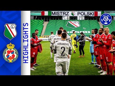 Legia Wisla Goals And Highlights