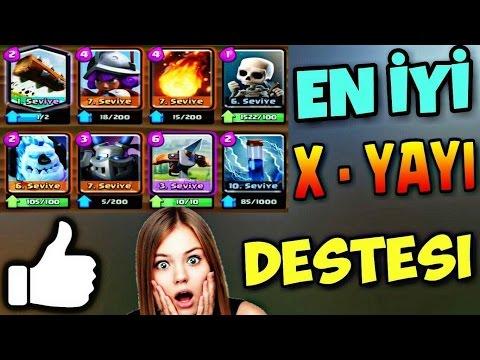 En İyi X - Yayı Destesi  !!  | Clash Royale | #15