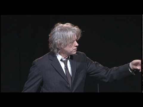 OYW 2010 Bob Geldof addresses One Young World