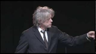 OYW 2010 Bob Geldof addresses One Young World