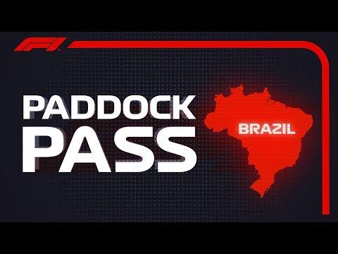 F1 Paddock Pass: Pre-Race At The 2018 Brazilian Grand Prix