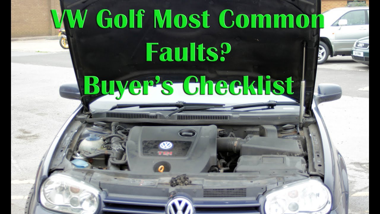 Download VW Golf Mk4 Most Common faults & problems - Buyer's checklist for issues 1997-2004 models Bora/Jetta