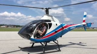 Start-up and takeoff of a 2000 Schweizer 333 by Capt Roy Taylor...