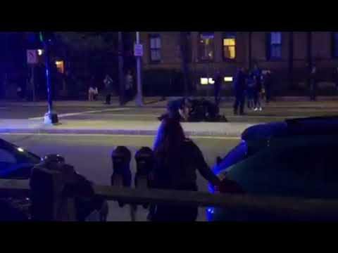 See full video of Cambridge police officer punching Harvard University student Selorm Ohene