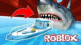 WE ESCAPED FROM A GIANT TIBURON!! MEGALODON ROBLOX 💙💚💛 BE BE BE BE BE BE BE BE BE BE BE 😍 BE BE BE