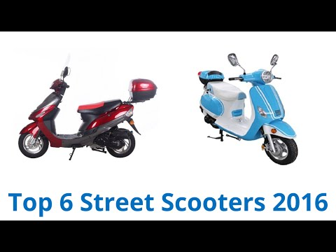 6 Best Street Scooters 2016 - YouTube