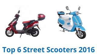 6 Best Street Scooters 2016