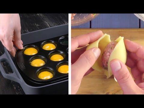 séparez-le-jaune-et-le-blanc-d'œuf-dans-un-moule-à-muffins-!-10-idées-d'apéritifs-malins