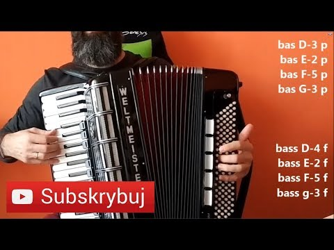 Sokoły akordeon tutorial