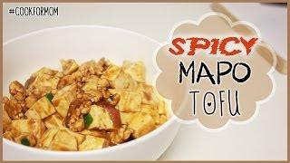 Weylie's Kitchen: Spicy Mapo Tofu #cookformom | Ilikeweylie