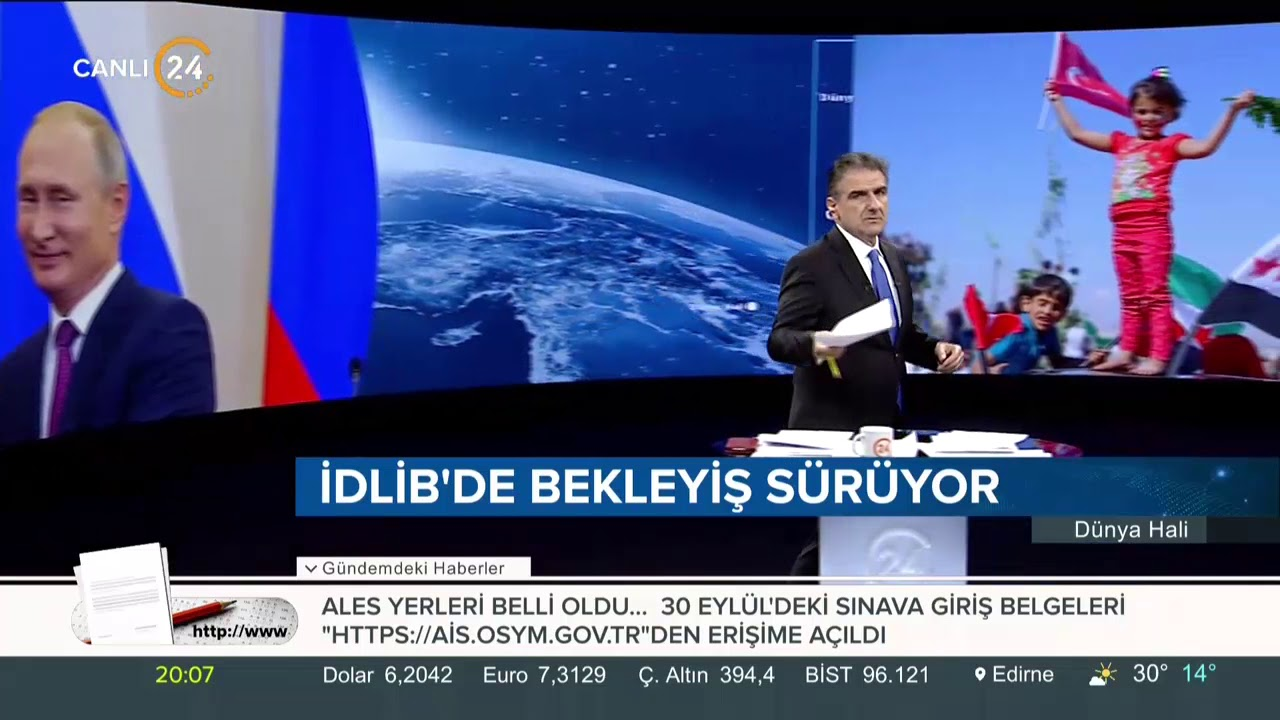 Selim Atalay ile Dünya Hali (20.09.2018)