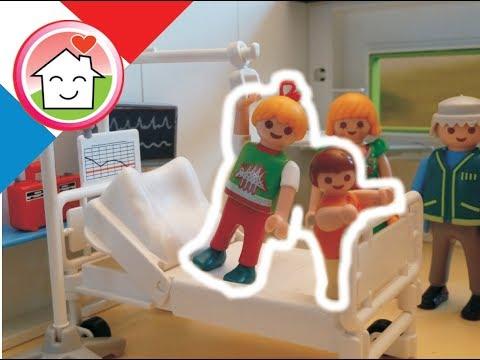 Playmobil en français A l´hôpital -  La famille Hauser