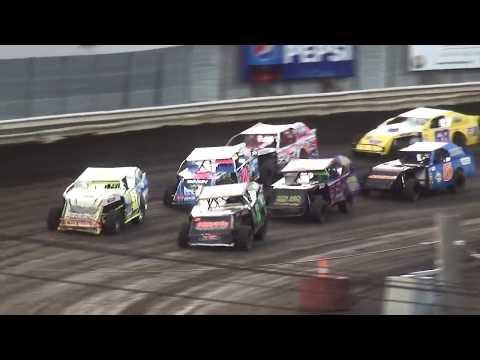 IMCA Sport Mod Heat 2 Pepsi Lee County Speedway 9/14/19