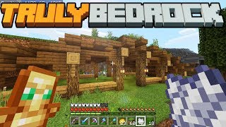 What is TB Money? & The Grass Roof Animal Barn - Truly Bedrock - S1 E3 - Minecraft SMP [1.11]