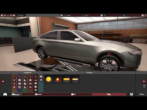 Super V10 Luxury Sedan Build in Automation.