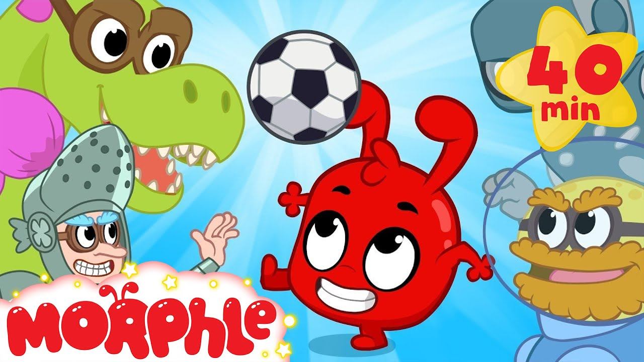 My Magic Soccer Match! Morphles 2018 Football World Cup Cartoon For Kids!