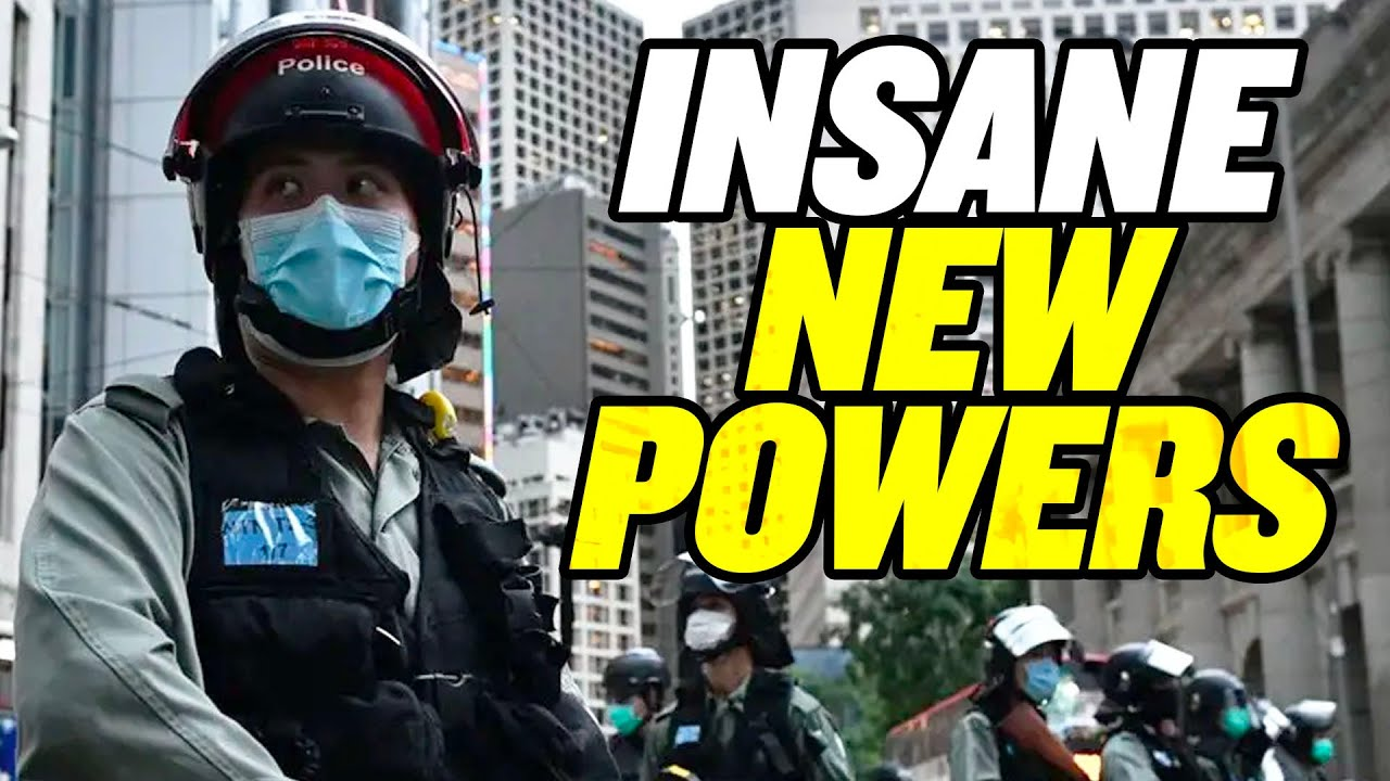 6 Insane New Powers for Hong Kong Police