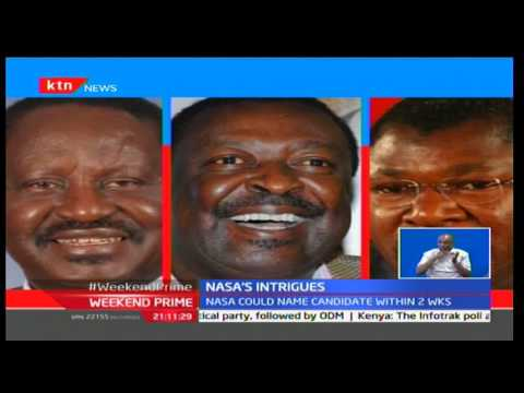 NASA to announce presidential candidate in a fortnight with Kalonzo Musyoka likely to gain big