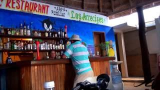 Fresh sea food on the beach -  Mahahual Mexico Travel -  YouTube